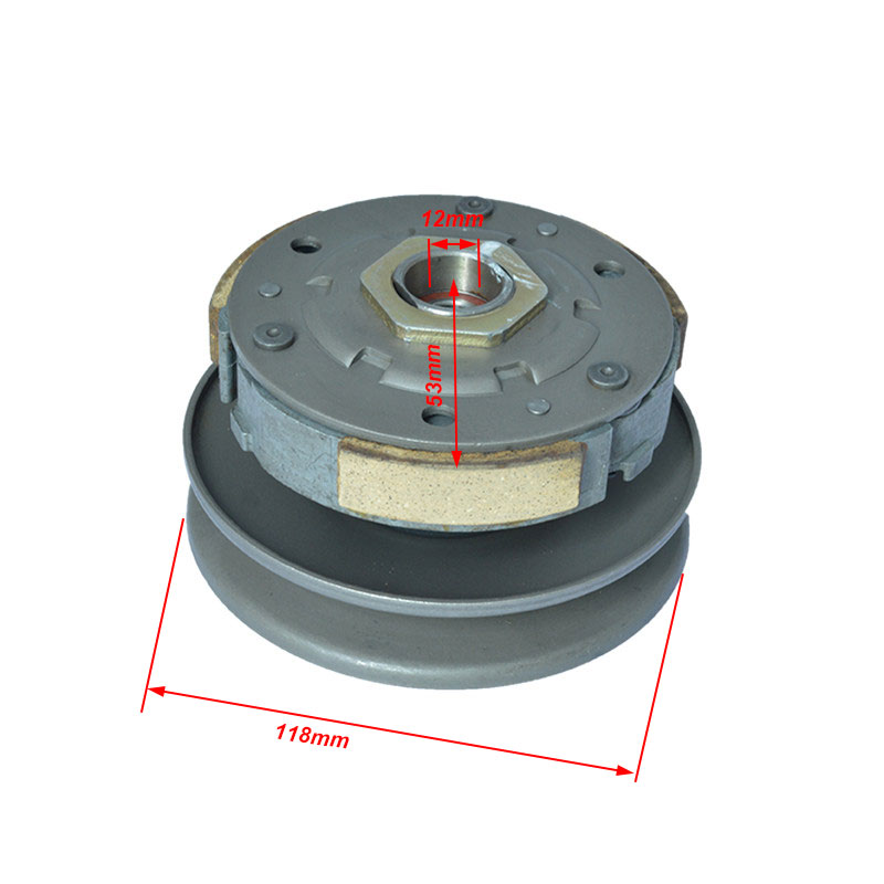 купить Motorcycle Belt Pulley Driven Wheel Clutch Assembly For GY6 50cc-80cc 139QMB 139QMA Moped Scooter TaoTao Spare Parts по цене 2254.8 рублей