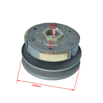Motorcycle Belt Pulley Driven Wheel Clutch Assembly For GY6 50cc-80cc 139QMB 139QMA Moped Scooter TaoTao Spare Parts