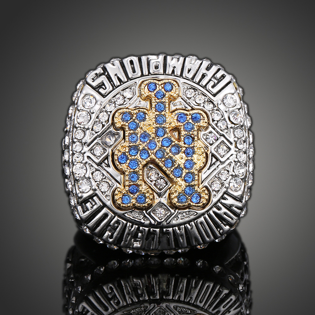 Top quality 2015 new york mets national league championship ring top quality 2015 new york mets national league championship ring for men fan love collection memorial sciox Images