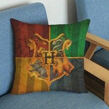 Harry Potter Pattern Cushion Pillow Case 45*45cm/30*50cm