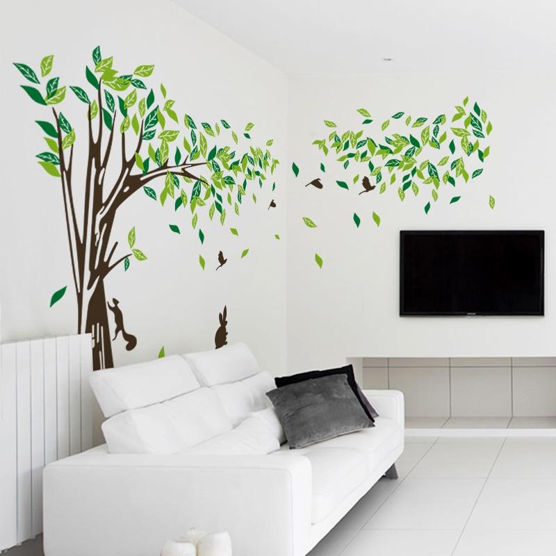 tienda online grande xl decoracin etiqueta de la pared rbol etiqueta de la pared para sala de estar decoracin para el hogar vinilos paredes