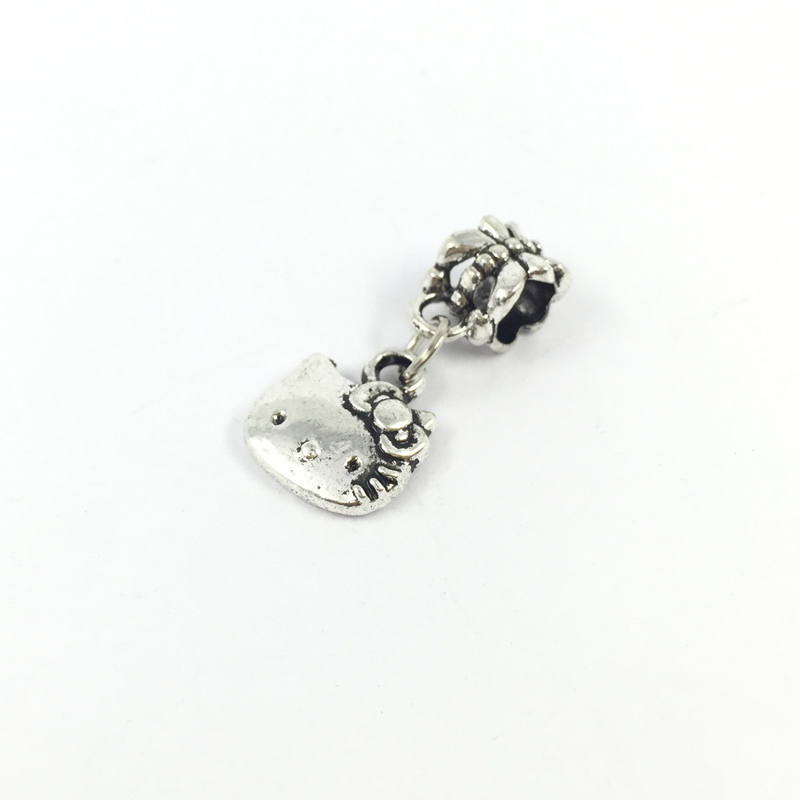 Pandora Jewelry Free Shipping: Free Shipping Cat Dangle Pendent Charm European Beads Fit