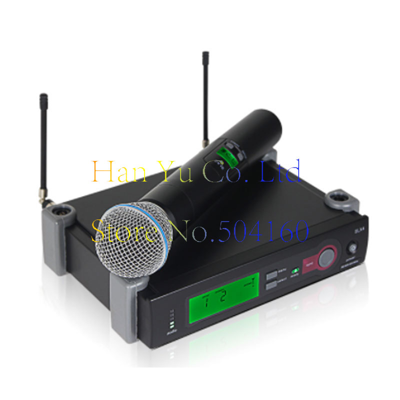 Professional Handheld Wireless Microphone Karaoke UHF Microphone SLX24/Beta58 Headset Mic Top Quality SLX4 SLX2Professional Handheld Wireless Microphone Karaoke UHF Microphone SLX24/Beta58 Headset Mic Top Quality SLX4 SLX2