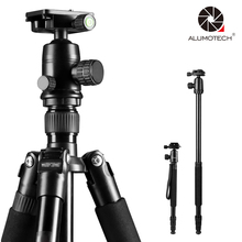 Max Load UP to 22LBs Portable Outdoor Tripod Stand For Photo Camera Video Film