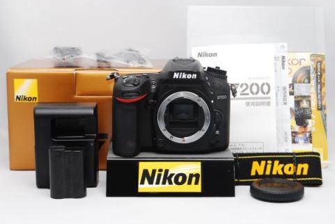 Nikon D7200 DSLR Camera 24.2MP DX-Format 1080p Video Wi-Fi 3
