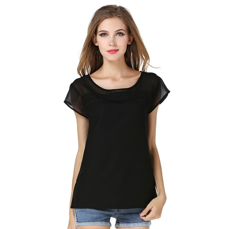 Buy Cheap Blouse Aliexpress Blusa Feminino European Womens Blouses Large Size Printing Sleeveless Vest Chiffon Loose Shirt Vestidos Lh006 Blouses & Shirts