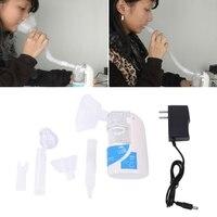 Portable Ultrasonic Nebulizer Handheld Nebuliser Respirator Humidifier EU US Plug Dec23
