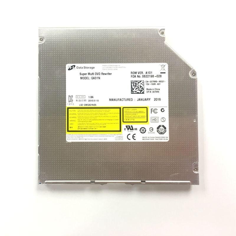 Original New for HL GA31N Superdrive 8X DL DVD CD RW Burner Multi Writer Slot-in 12.7mm Internal SATA Drive Free Shipping