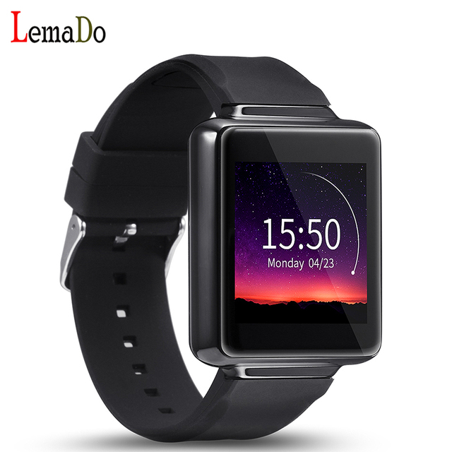 Lemado К1 Android 5.1 Smart Watch ROM 8 ГБ + RAM 512 МБ Bluetooth Wi-Fi GPS smartwatch Наручные Часы Для Android Телефон