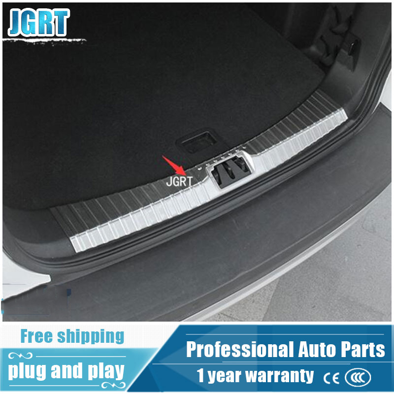 JGRT car styling for Ford Kuga Escape 2017 model high quality stainless steel internal Rear guard plate proteation board 1pcs aosrrun after the stainless steel backboard of the guard board the rear guard plate car accessories for acura cdx 2016 2017