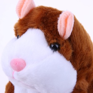 Image 5 - Kids Hamster Plush Speak Sound Toys Baby Electronic Pets Cute Plush Dolls Sound Record Speaking Hamster Talking Toys Xmas Gifts
