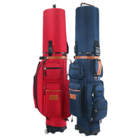 Authentic Golf Pulley Bag Multifunctional Tug Standard Bag Larger Capacity Wheel Golf Cart Caddy Club Viation Sport Bags D0086