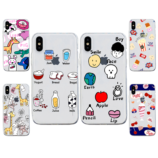 US $1 99 |For OPPO F1S F5 F7 F9 A1 A3 A5 A33 A35 A37 A39 A51 A53 A57 A59  A71 A77 A83 Painted Animal icon friesTPU Soft Clear Phone Case-in Fitted