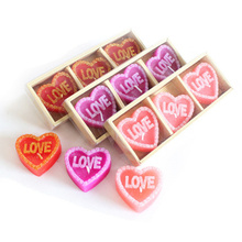 romantic heart-shaped smoke-free  aromatherapy Love shape candles for DIY Valentine's Day wedding gift  gadgets