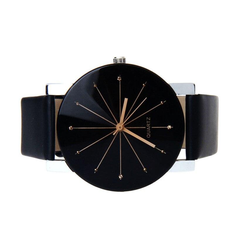 Alto qulity C6 Moda Hombre Cuarzo Dial Reloj de pulsera de cuero caso - Relojes para hombres - foto 4