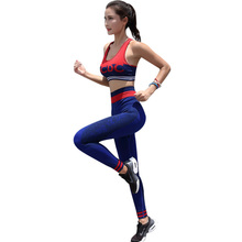 Kyncilor Womens Sportswear Tight Yoga Fitness Suit Seamless Quick-drying Hip-jacquard Two-piece