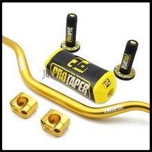 "Руль для PRO Taper Pack Bar 1-1/"" ручка бар колодки ручки Pit Pro гоночный Dirt Pit велосипед Мотоцикл CNC 28,5 мм адаптер"
