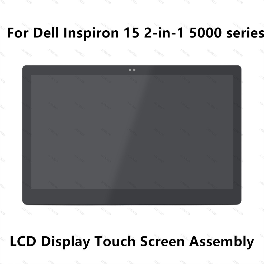 15.6''For Dell Inspiron 15 2-in-1 5000 5558 5559 5568 5569 5578 Full FHD LCD Display Screen Touch Glass Digitizer Panel Assembly 15 6 led lcd touch screen for dell inspiron 15 5555 5558 5559 b156xtk01 0 0wwjy1 rplacement display