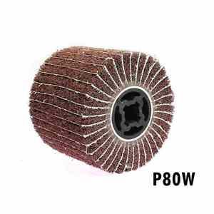 Image 2 - Roue de polissage en Satin Non tissé en acier inoxydable, 120x100x19mm, 1 pièce