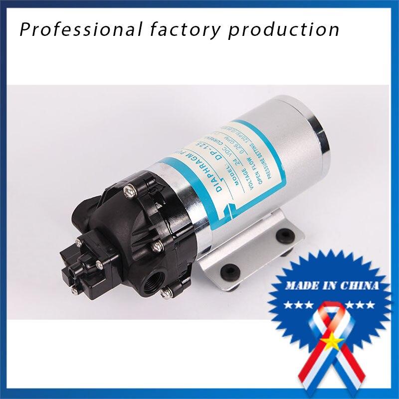 Здесь можно купить  free shipping DP-125 DC Power Electric Small 24 Volts Water Pump For Chemical  Строительство и Недвижимость