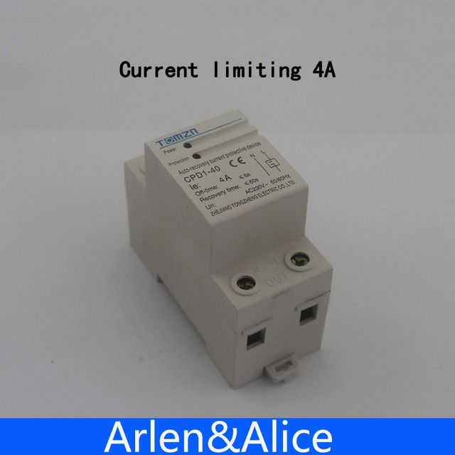 4A 920W 230V 50/60HZ Household Din rail automatic recovery reconnect ...