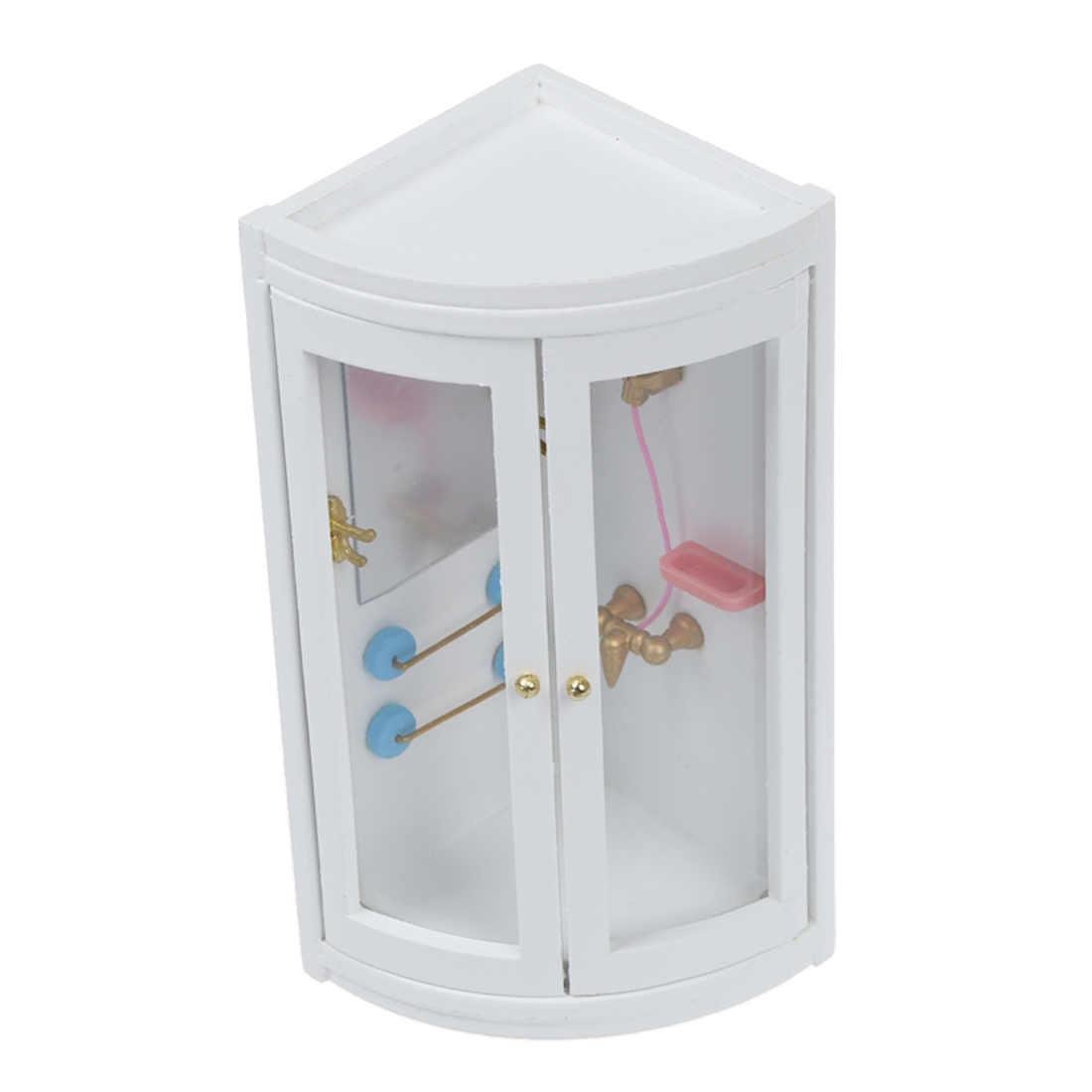 ABWE 1:12 Childen Doll house Miniature Bathroom Furniture Shower Room