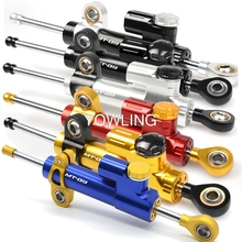 For YAMAHA MT-09 FZ-09 MT09 FZ09 2013 2014 2015 2016 2017 Steering Damper Stabilizer Reversed Safety Control Mounting Bracket недорго, оригинальная цена