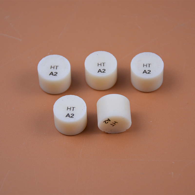 New Arrival 10pcs Dental Lab Consumable Materials Dental Supply Dental Lithium Dislicate Blocks Lithium Dislicate Pills /Tablets