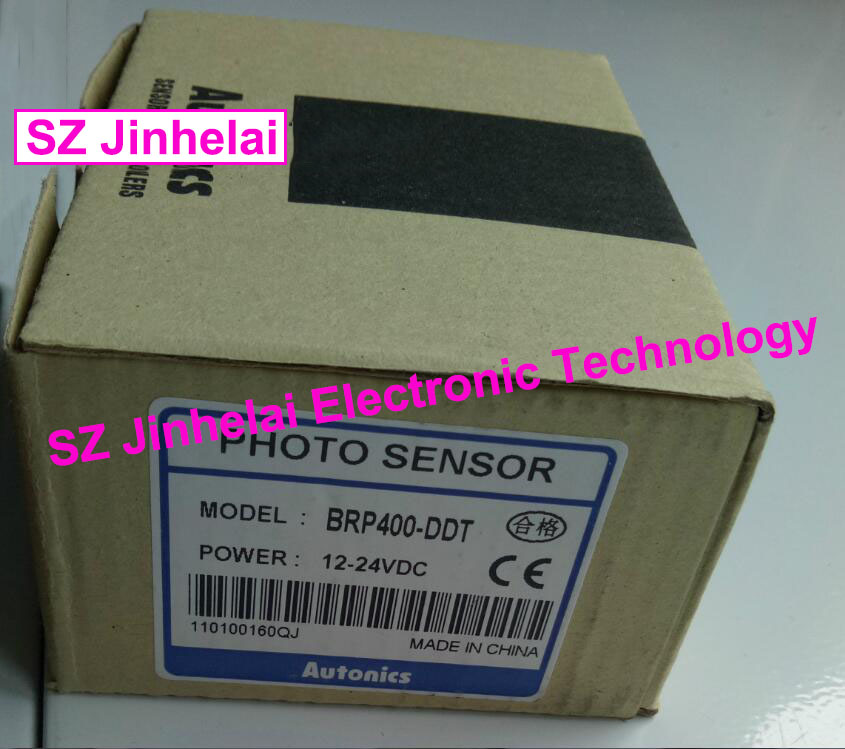 New and original  BRP400-DDT, BRP400-DDT-P   AUTONICS  Photoelectric switch  PHOTO SENSOR  12-24VDC new original proximity switch br400 ddt p