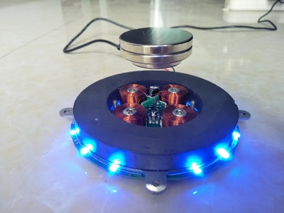 1200-1400g magnetic levitation 135 core bonsai God of wealth booth DIY design of ga fuzzy controller for magnetic levitation using fpga