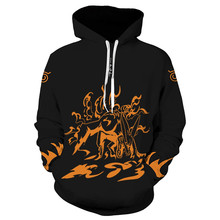 Naruto Hoodie Coat Sweatshirts Kakashi Akatsuki Sasuke O'Brien 3D Hoodies Pullovers Men Women Outerwear Hoodie Jacket sweatshirts outerwear side zipper design women hoodie sweater coat