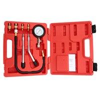 A0011 Benzinmotor Compression Tester Automotive Test Kombination Kit 0 ~ 300psi Auto Druckprüfer