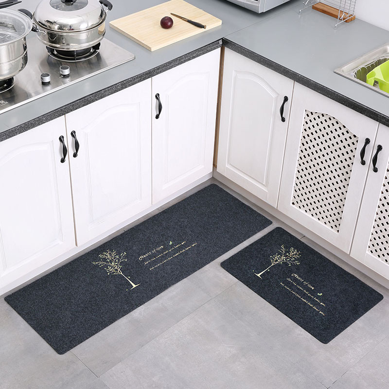Kitchen Mat Bath Carpet Floor Mat Tapete Doormats Carpet Thin Non-Slip Kitchen Bathroom Carpet Room Pad Home Floor Mats