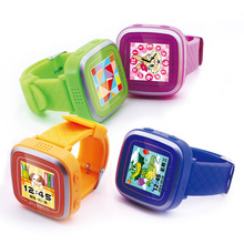 FineFun 2016 New W2 Smart Watch Children Watch Students Zero Radiation Safety Color Multifunction Watch As Children Gift