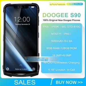Image 2 - DOOGEE teléfono inteligente S90 Original, IP68/IP69K, superimpermeable, a prueba de golpes, 5050mAh, 6,18 , MT6671, Helio P60, 6GB, 128GB, cámara de 16MP