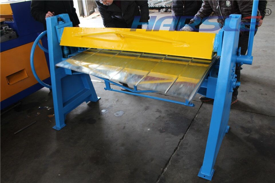 Images For Metal Bending Machine >> Us 1500 0 Harsle Manual Steel Folding Machine Steel Sheet Metal Bender Duct Folding Equipment In Bending Machinery From Tools On Aliexpress Com