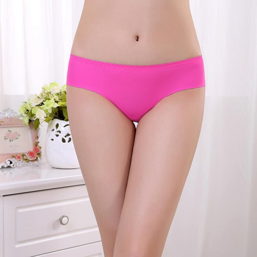 desire #50 Women Invisible Underwear Spandex Seamless Crotch