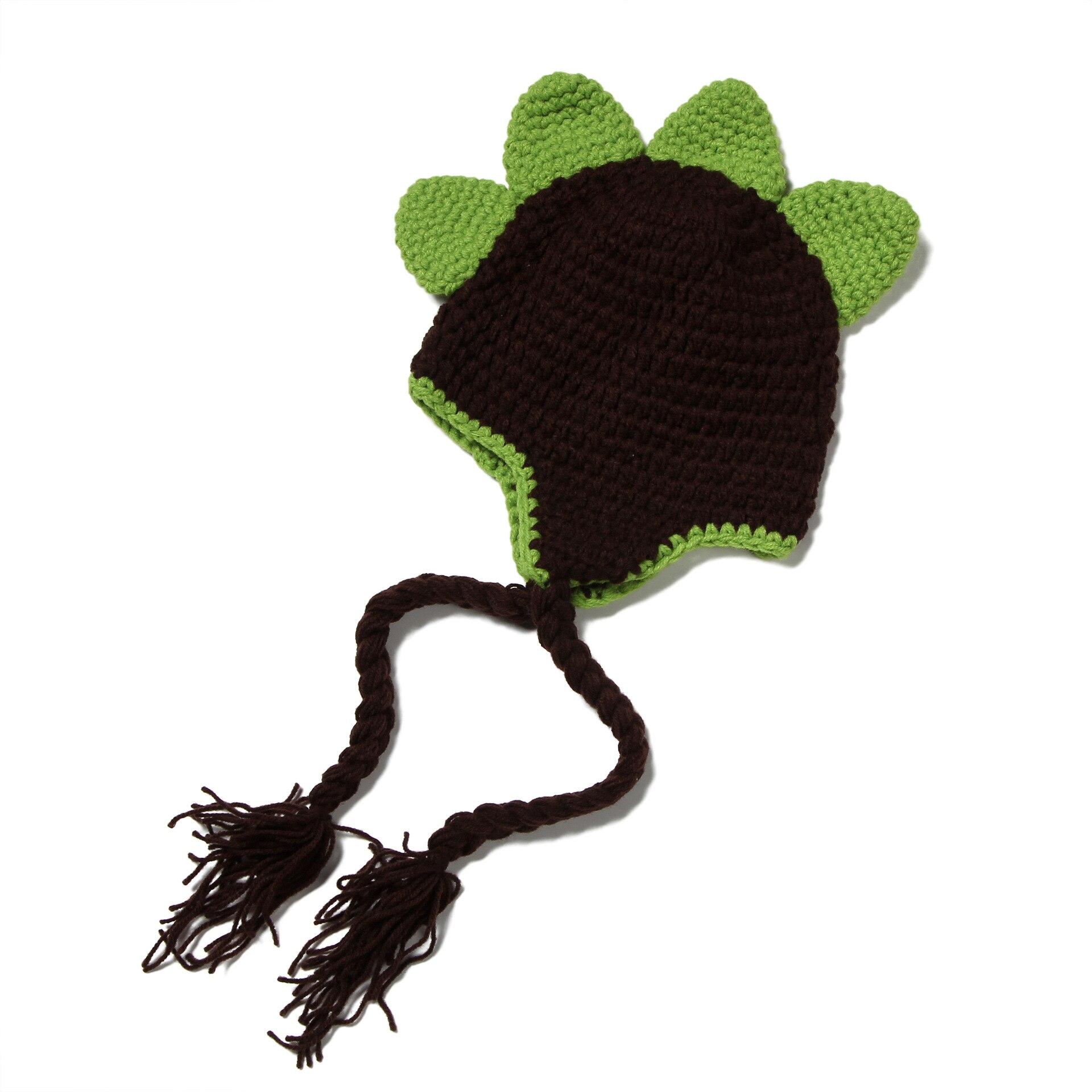 Bebé de punto sombrero estilo Animal lindo sombreros tejidos a mano ...
