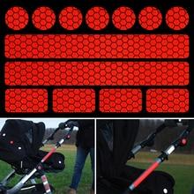 Горячая светоотражающие наклейки для коляски, велосипедные шлемы