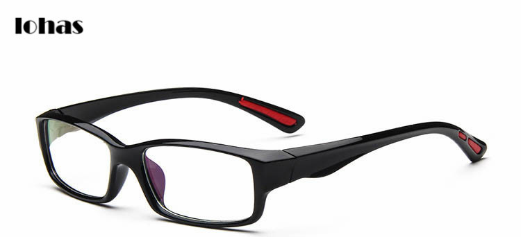 simply stylish recatangle style glasses frame for men with best quality high promotion best quality eyeglass frame for men