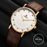VINOCE Men Watch Top Brand Luxury Male Leather Waterproof Sport Quartz Business Military Wrist Watch Men