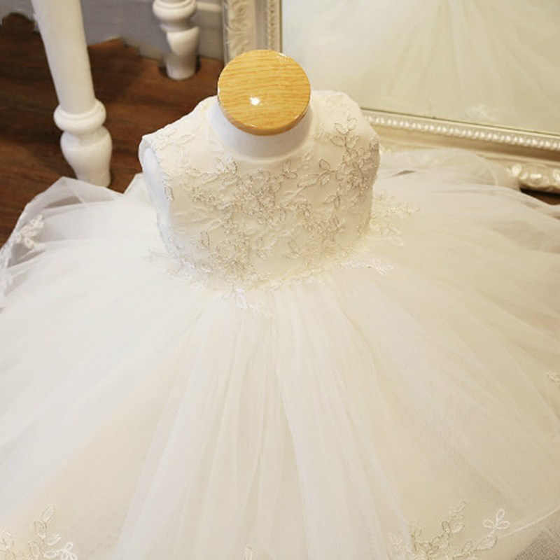 פרח ילדה חתונה שושבינה של המפלגה שמלת ילדה ארוחת ערב חגיגית רקמה שמלת חדש ילד השנה הראשונה של המפלגה vestidos דה פיאסטה