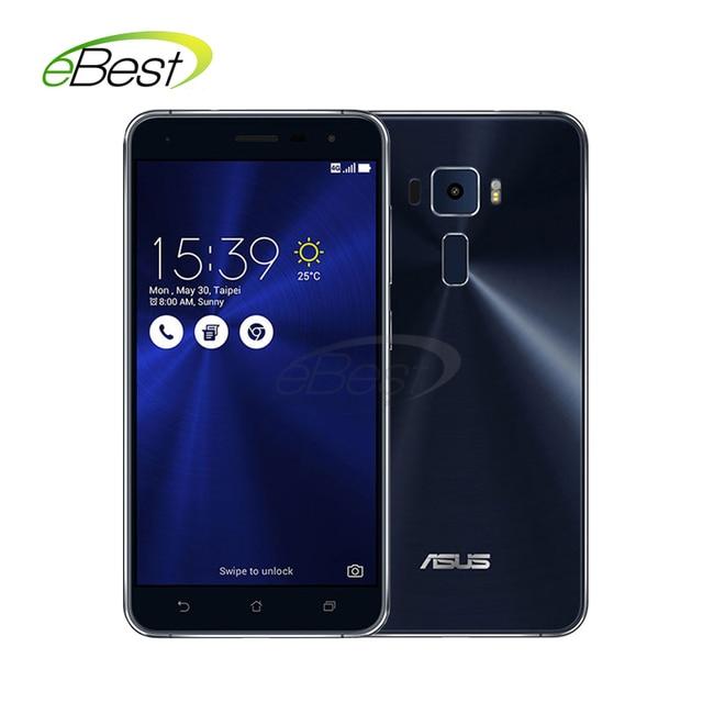 "Original ASUS Zenfone 3 ZE552KL mobile phone 5.5"" Snapdragon 625 Octa core Android 6.0 RAM 4GB ROM 64G 16.0MP Camera Fingerprint"