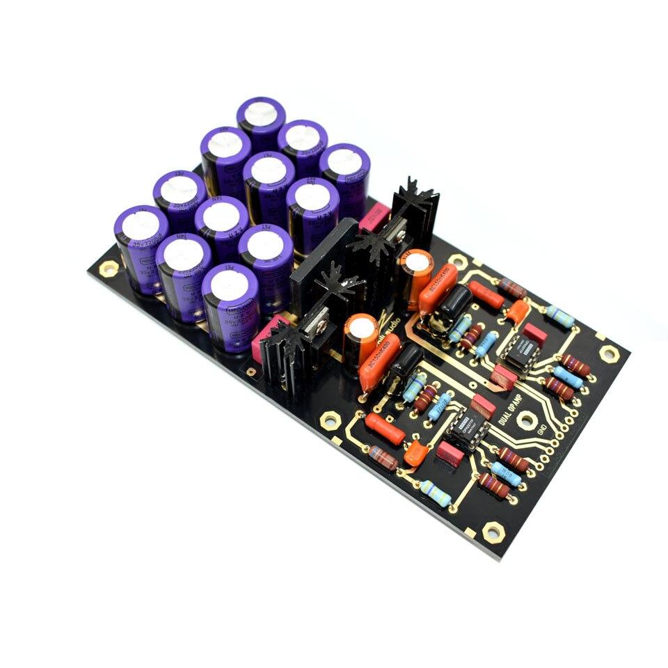 Carte amplificateur Lusya MM PCBA OPA2111KP platine vinyle HiFi Phono préamplificateur préamplificateur assemblé carte C2-003 - 5