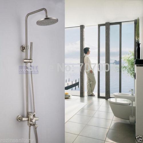 brushed nickel shower faucet set. Excellent Brushed Nickel Shower Faucet Set Photos Best  martinkeeis me 100 Images