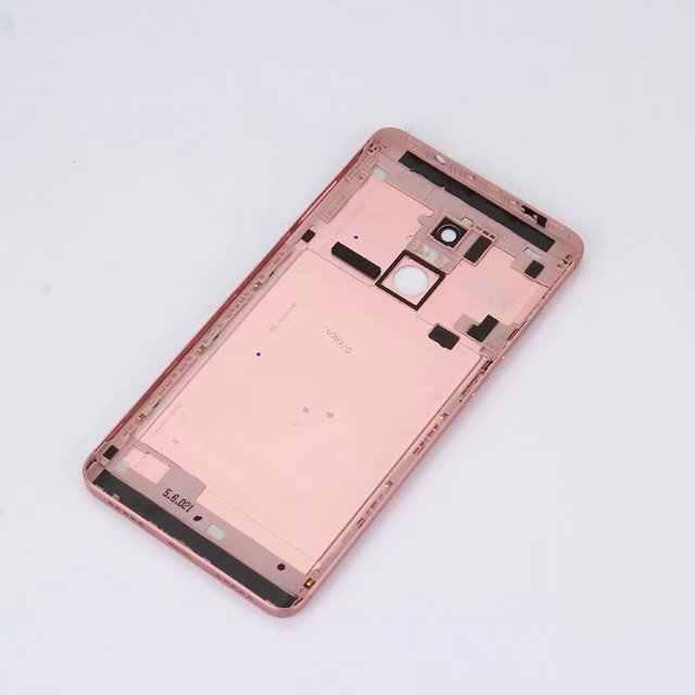 Note4X Ban Đầu Dành Cho Xiami Redmi Note 4 Toàn Cầu/Note 4X Nhà Ở Kim Loại Pin Thông Minh Điện Thoại Cửa Lưng Thay Thế bao da