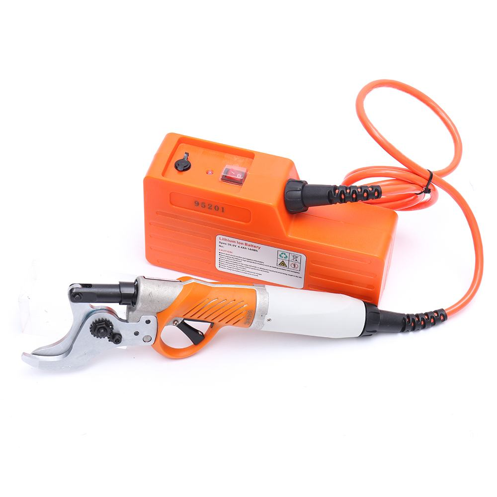 450W 36V 4400mah Electric Shears Electric Pruner For Fruit Tree Garden Scissors Lithium Battery Electric Pruning Shear Orchard