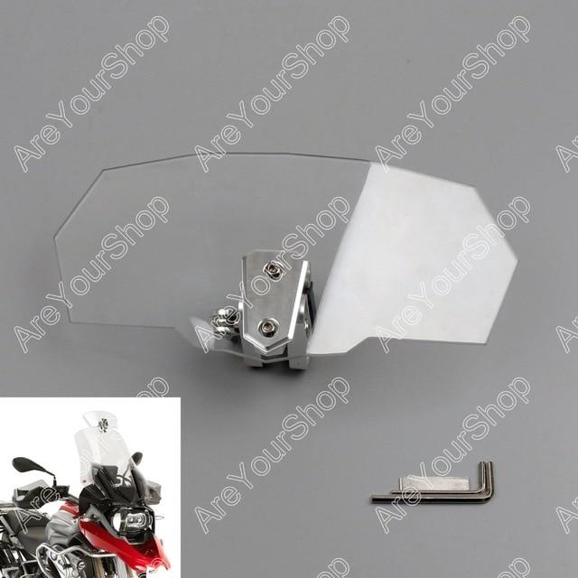 Sale for Kawasaki etc Universal Motorcycle Motobike Windshield Windscreen Transparent Spoiler Shield Windscherm Clear