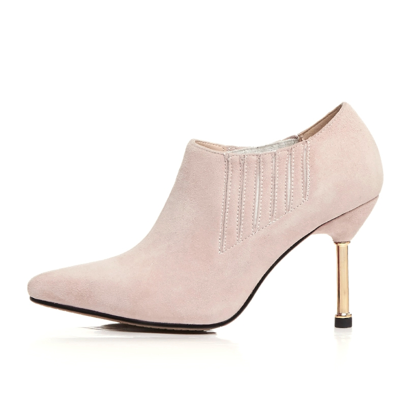 Invierno Chaussures Base Pour Botas Anmairon Bottes Pointu Tailles Bout Femmes Des De Ly137 Black Mujer 40 34 grey pink Bottines QCoedBrxWE
