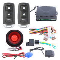 In Stock Quality Universal Car Burglar Alarm System With Remote Trunk Release Keyless Entry LED Light